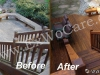 Cedar Deck in Natural Cedar Sealant