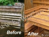 Build-in-Deck Furniture Refinishing