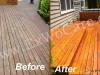Cedar Deck Waterproofed by Good Sealer