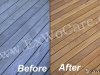 Restoring Cedar Deck to Clear Sealer