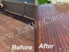Clear Cedar Deck Restoration